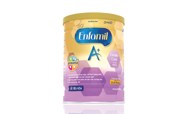 Enfamil A + Gentle Care milk powder for children from 12 to 24 months, (for health workers)