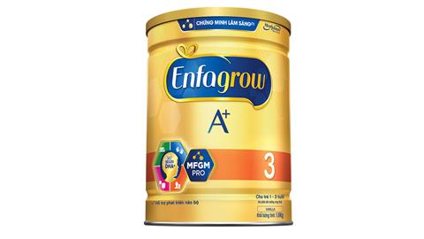Sữa ENFAGROW A+ 3 DHA+ và MFGM PRO