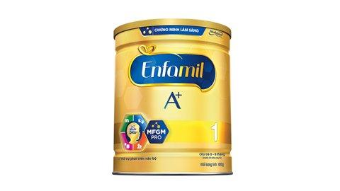 Sữa ENFAMIL A+ 1 DHA+ và MFGM PRO