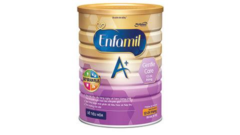 Sữa Enfagrow A+ Gentle Care Hộp thiếc 900g