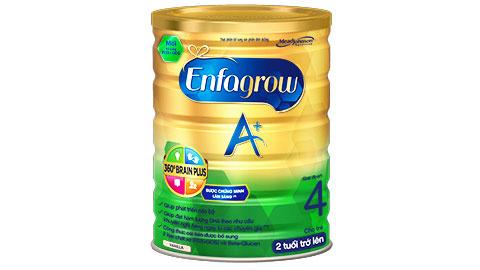 Sữa Enfamil A+4 - Có 2 dạng lon: 900gr và 1.8kg
