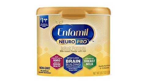 Enfamil NeuroPro Infant Formula nhập khẩu từ Mỹ (dành cho trẻ từ 0-12 tháng tuổi) 587g