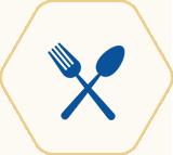 Bé bắt đầu sử dụng thìa và nĩa Bé có thể dễ dàng tự ăn bằng tay
