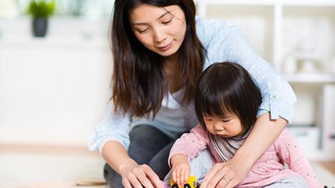 Phương pháp hỗ trợ trẻ phát triển toàn diện sớm hơn - giai đoạn 5 tháng tuổi